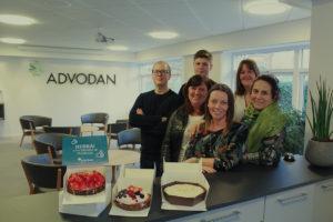 Gruppebillede, Advodan Glostrup, Lindskov Communication